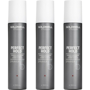 Goldwell Style Sign Perfect Hold Sprayer 3x300 ml