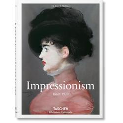Malerei des Impressionismus als Buch von