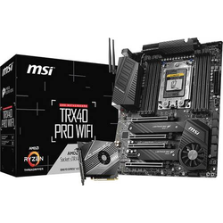 MSI TRX40 PRO WIFI Mainboard Sockel AMD AM4 Formfaktor ATX Mainboard-Chipsatz AMD® TRX40