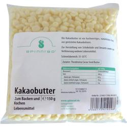 KAKAOBUTTER Pellets zum Backen 150 g