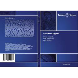 Verortungen als Buch von Wolfgang Petrak