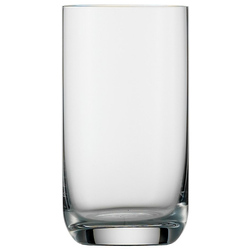 Stölzle Glas CLASSIC long life, Kristallglas, Saftglas, 265 ml, 6-teilig weiß