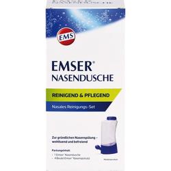 EMSER Nasendusche mit 4 Btl.Nasenspülsalz 1 St.