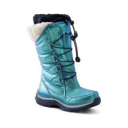 Schneestiefel Schneeflocke - 33 - Grün