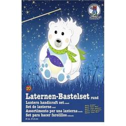 Laternen-Bastelset 20 'Eisbär'