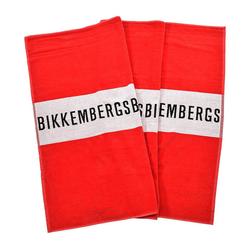 Bikkembergs Strandtuch Unisex Strandtuch - Badetuch, Beach Towel, rot
