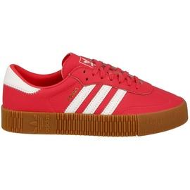 Damen Sneaker Adidas Sambarose W Shock Red White Gum 38.5