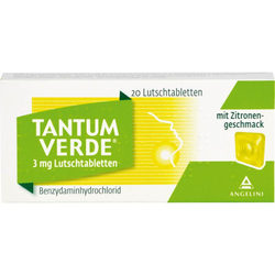 TANTUM VERDE 3 mg Lutschtabl.m.Zitronengeschmack 20 St.
