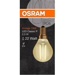 OSRAM LED EEK A++ (A++ - E) E14 Tropfenform 3W Warmweiß (Ø x L) 45.0mm x 77.0mm 1St.