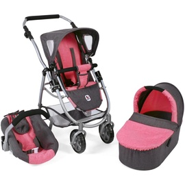 Bayer Chic 2000 Emotion 3 in 1 All In anthrazit-pink
