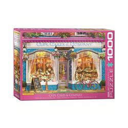 EUROGRAPHICS Puzzle 6000-5520 Tassen Kuchen & Co. 1000 Teile Puzzle, Puzzleteile