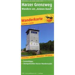 Harzer Grenzweg - Wandern am Grünen Band 1 : 30 000