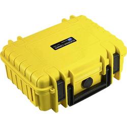 B & W Outdoor Koffer outdoor.cases Typ 1000 4.1l (B x H x T) 270 x 215 x 105mm Gelb 1000/Y/SI