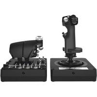 Logitech X56 H.O.T.A.S. - Joystick und Gasregler - kabelgebunden -