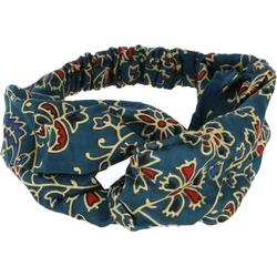 Guru-Shop Stirnband Turban Haarband, Kopfband, Stirnband - petrol