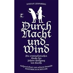 Durch Nacht und Wind. Stefan Lehnberg  - Buch