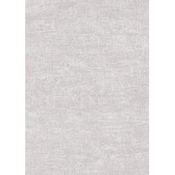 WOW Vliestapete Textil Uni, uni, (1 St), Hellgrau - 10m x 1,06m