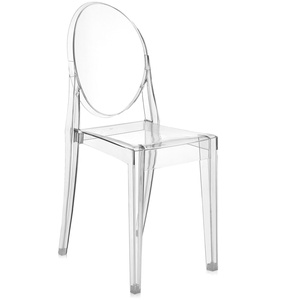 Kartell Victoria Ghost, Glasklar, 2er Set