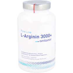 AMITAMIN L-Arginin 3.000 Kapseln 240 St.