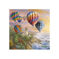 Ambiente Papierserviette Heißluftballons, 33 cm x 33 cm