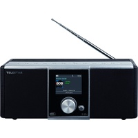 Telestar S 20i Radio Tragbar Analog & Digital Schwarz, Silber