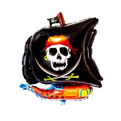 Piratenschiff Folien Luftballon für Kindergeburtstag Geburtstag Piraten Motto Party
