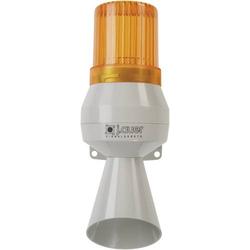 Auer Signalgeräte Kombi-Signalgeber KLL Orange Dauerlicht, Dauerton 24 V/DC