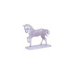 HCM KINZEL 3D-Puzzle großes Crystal Puzzle - Pferd Transparent, Puzzleteile