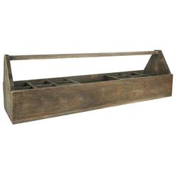 Ib Laursen Holzkiste Holzkiste Holzkorb Korb Kiste Holz Alt 15 Fächer mit Henkel Ib Laursen 5218 14