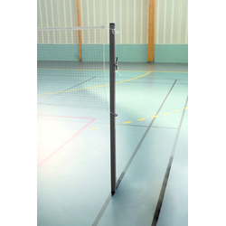 Kübler Sport® Badminton-Pfosten SCHOOL in Bodenhülsen