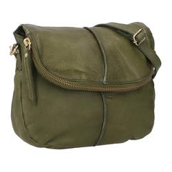 Gusti Leder Handtasche Iselin (1-tlg), Handtasche Ledertasche Umhängetasche Laptoptasche grün