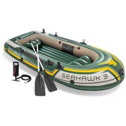 Intex Schlauchboot Seahawk 3, (Set, -, mit 2 Paddeln und Luftpumpe)