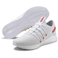 M puma white/high risk red 44