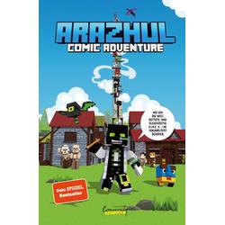 Wie ich die Welt rettete und gleichzeitig eine 3- im Vokabeltest schrieb - Ein Arazhul-Comic-Adventure als Buch von Roman Fink/ Adrian Richter/ Ar...