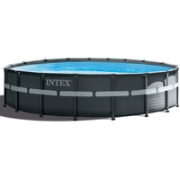 Intex Swimming Pool Ø 549 x 132 cm Frame Pool Set Ultra Rondo XTR