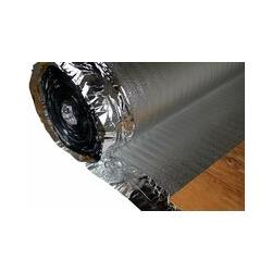 Trittschalldämmung - Dampfsperre   für Holzböden, Fußbodenheizung   Silver Plus:100 Quadratmeter, 2