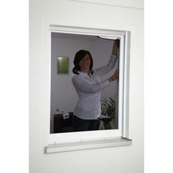 Pollenstop-Gewebe für Fenster - 130 x 150 cm anthrazit - Pollenschutz Fliegengitter