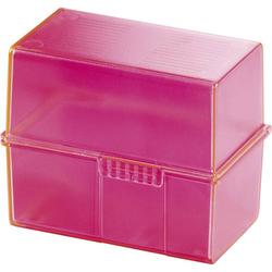 HAN SIGNAL 976-76 Karteibox Pink max. Anzahl der Karten: 400 Karten DIN A6 quer