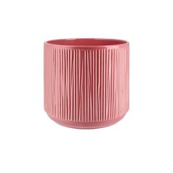 Übertopf ¦ rosa/pink ¦ Keramik Ø: 20