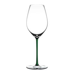 RIEDEL Glas Champagnerglas Fatto A Mano Champagne Green, Kristallglas weiß