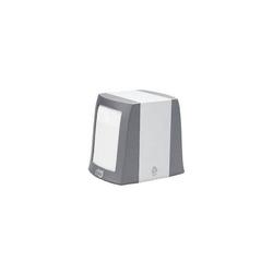 Serviettenspender für Spender-Servietten 25x30cm (N2-System) Alumiunium/Kunststoff grau