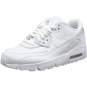 Nike Herren Air Max 90 Leather Traillaufschuhe, Weiß White 100, 38.5 EU