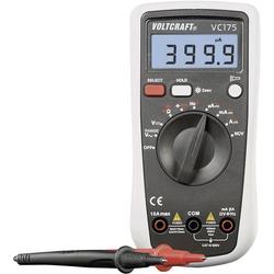 VOLTCRAFT VC175 Hand-Multimeter kalibriert (ISO) digital CAT III 600V Anzeige (Counts): 4000
