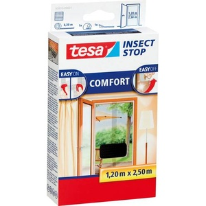 TESA Insect Stop Comfort 55910-21 Fliegengitter (L x B) 2500mm x 1200mm Anthrazit 1St.