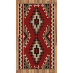 Teppich Flachgewebe Deko-Teppiche für das Wohn-,Schlaf-, und Essenszimmer, Abakuhaus, rechteckig, afghanisch Afghan Stil Motive 80 cm x 150 cm