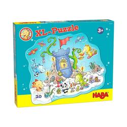 Haba Puzzle HABA 305466 XL-Puzzle Drache Funkelfeuer, Puzzleteile