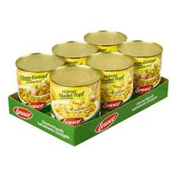 Erasco Hühner Nudeltopf 800 g, 6er Pack