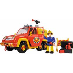 SIMBA Spielzeug-Feuerwehr Feuerwehrmann Sam, Feuerwehrauto Venus mit Figur bunt Kinder Ab 3-5 Jahren Altersempfehlung