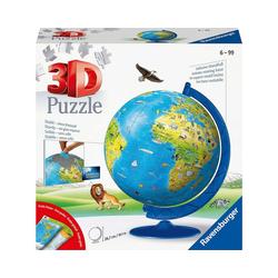 Ravensburger 3D-Puzzle 3D-Puzzle Kinder-Globus Ø20cm, 180 Teile, inkl., Puzzleteile