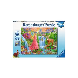 Ravensburger Puzzle Puzzle, 200 Teile XXL, 49x36 cm, Magischer, Puzzleteile